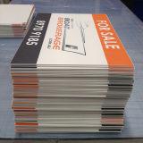 Coreflute 플라스틱 널, Corex 널 디지털 인쇄을을 인쇄하는 주문을 받아서 만들어진 로고
