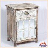 旧式な型居間のための木ミラーの家具