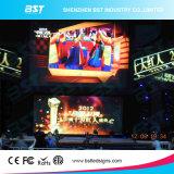 La publicité P5.95 500 de l'aluminium de location d'Afficheur LED de X.500 millimètre coulant le mur imperméable à l'eau de vidéo de DEL