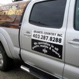 O ímã relativo à promoção removível personalizado da porta de carro assina a impressão