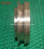 Parte de bronze personalizada elevada precisão pelo CNC que faz à máquina para a maquinaria