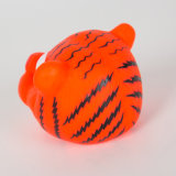 Tiger Shape perro de juguete de vinilo juguete chillón