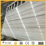 Chine, Marbre blanc, Carrelage en marbre de veine de bois, dalle de marbre blanc, Marbre en cristal de grain de grain