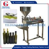 Máquina de enchimento de líquido semi-automática