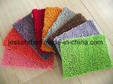 쉬운 최신 판매는 침실 목욕탕 부엌을%s 셔닐 실 양탄자를 유지한다