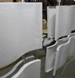 쇼핑 센터 정면 훈장을%s PVDF 코팅을%s 가진 관통되는 알루미늄 위원회