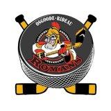Distintivo su ordinazione di Pin del hokey per la promozione di sport