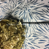 Cortina de mirada de lino teñida hilado especial típico del telar jacquar