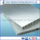 surface en aluminium de fini de moulin de panneau de nid d'abeilles de prix usine de 25mm