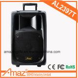 Altoparlante portatile senza fili del carrello attivo con il microfono