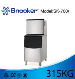 Snooker Ice Maker Machine avec 315kgs Production de glace