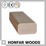 Balustrade en bois solide de simplicité pour la décoration à la maison