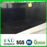 Big Black Sparkle Quartz Stone Slab