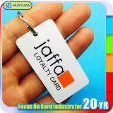 étiquette de PVC d'IDENTIFICATION RF de 13.56MHz ISO14443A NTAG213 NFC pour la fidélité