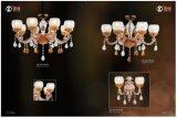 Nordische goldene Zink-Legierungs-einfaches Leuchter-Licht