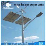 Do vento trifásico de três lâminas da C.A. luz solar da lâmpada de rua