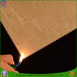 Tissu imperméable à l'eau de rideau en arrêt total de franc de polyester de tissu tissé par textile à la maison