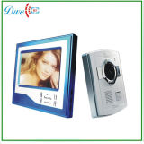 Home Security 7 polegada TFT LCD de tela de toque de campainha do telefone da porta de vídeo a cores do sistema de intercomunicação Visão Noturna Eye Camera Doorphone