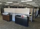 직원 (FOH-WS408-1)를 위한 Foshan 공장 MFC 개인 사무실 워크 스테이션