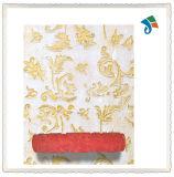 Rolo de pintura de madeira ou TPR Handle Pattern para decoração de parede