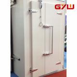 Porte convexe de double lame pour la chambre froide