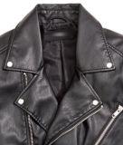 背部カラー革PUメンズバイクのジャケット