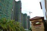 Grúa de construcción hidráulica de la torre