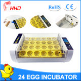 Incubateur automatique d'oeufs de poulet de Hhd à vendre Yz-24A