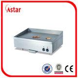 Piastra diritta libera del gas con il Governo, strumentazione commerciale della cucina dell'acciaio inossidabile con controllo di temperatura tre