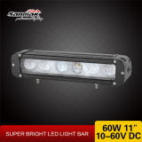 Nuevos productos calientes 4X4 Mini Truck Barra de luces LED 60W