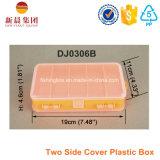 Caixa plástica da atração da tampa bilateral
