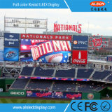 Druckgießenim freien videowand des aluminium-P4 der Miete-LED für Stadium