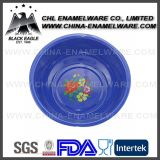 China Supplier Bright Color Logo Printing Unbreakable Spray Plastic Basin