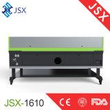 Máquina do laser do CO2 do controle do CNC do consumo do baixo preço de Jsx 1610 baixa