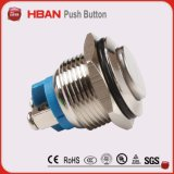Hban Cer RoHS (19mm) flacher momentaner industrieller Anti-Vandale Drucktastenschalter