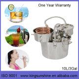 Destilador do aço inoxidável de Kingsunshine 30L/8gal, ervas/Rosa/equipamento destilação de Lavendor Hydrolat DIY