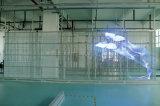 Visualizzazione di LED trasparente usata per la finestra di vetro del negozio o della costruzione