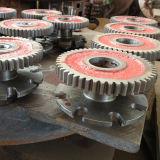 金属のホースのための水平ワイヤー組みひも機械