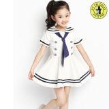 Fornecedor personalizado colorido do uniforme de vestido da escola de verão da menina