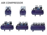 compresor de aire dental sin aceite 90L para el uso dental de la unidad seises