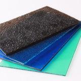 스카이라이트를 위한 색깔 폴리탄산염 장에 의하여 돋을새김되는 플라스틱 장