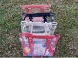 プラスチックゆとりPVC浜袋浜の戦闘状況表示板のショッピング・バッグ
