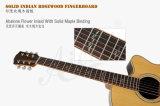 Guitarra acústica superior contínua do projeto da frição do ventilador