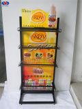 Heiße verkaufenqualitäts-Standplatz-Shampoo-Produkt-Bildschirmanzeige-Zahnstange