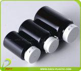 محبوب زجاجة سوداء بلاستيكيّة مع يمزّق غطاء