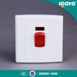 Commutateur normal BRITANNIQUE d'Igoto pour la chaufferette et le Refrigertor et facile à installer