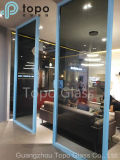 Vidro reflexivo cinzento escuro/europeu decorativo (C-UG)