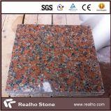 De opgepoetste G562 Tegels van de Bevloering van het Graniet van de Esdoorn Rode en van de Bekleding van de Muur