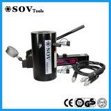 Cylindre hydraulique en aluminium temporaire de double de soupape d'arrêt (SV26Y)