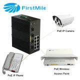 Interruttore industriale 802.3at di Ethernet dell'interruttore di Indrustrial Poe